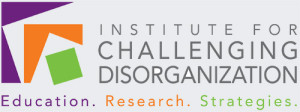The Institute for Challenging Disorganization logo